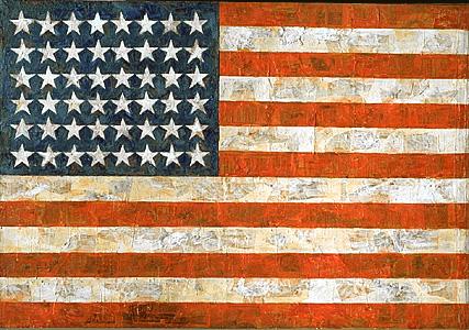 Jasper Johns - Flag - 1954-55